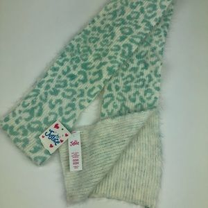 Justice Reversible Scarf NWT